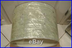 1967 LUDWIG 20 WHITE MARINE PEARL CLUB DATE BASS SHELL for YOUR DRUM SET! #E197
