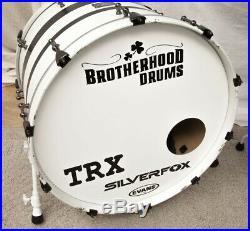 3-piece Custom Keller Maple Shells Drum Set by Brotherhood Custom Drums