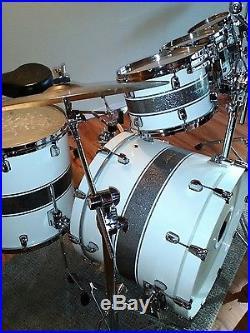 5 Piece Custom Tama Starclassic Maple Drum Set Used Drum