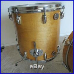 70s Gretsch Stop Sign Badge Drum Set kit progressive jazz 20 12 14 5 1/2