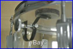 70s LUDWIG CHICAGO 14 CLEAR VISTALITE CLASSIC RACK TOM for YOUR DRUM SET! #E133