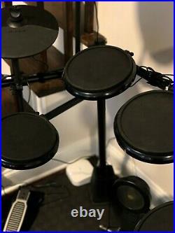 Alesis 8 Pcs Nitro Electronic Drum Set with Kick Pedal-FREE SEAT-RISERS-STICKS
