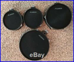 Alesis Crimson II Mesh 4 Piece Pad Set (2) 8, 10 & 12 Drum Pads