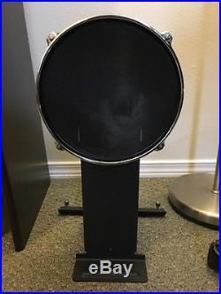 alesis dm10 studio mesh kit ten piece electronic drum set used
