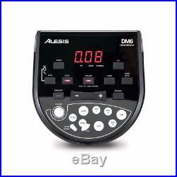 Alesis DM6 Session Kit Eight-Piece Compact Electronic Drum Set