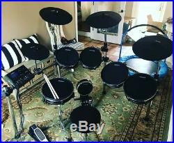Alesis Dm10 MKII Pro Kit Electronic Drum Set + Simmons SA50B Drum Monitor