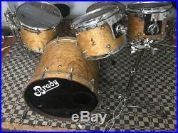 BRADY 4 Piece Jarrah Drum Set