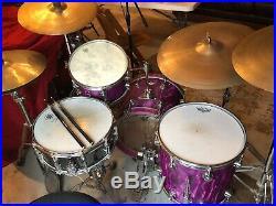 Camco Bop drum set Oaklawn 14x18, 8x12, 14x14