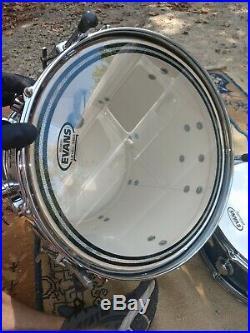 Camco Drum Set Kit Rare 4pc 20-14-12 Pro Restored Oaklawn VTG Snare Tom Bass