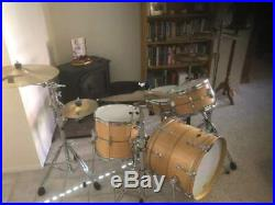 Craviotto 3 pc. Bop Kit Solid Maple Signed Shell Set Excellent Condition