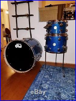 DW COLLECTOR'S BLUE GLASS Drum set