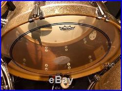 DW Classics 2016 Broken Glass Mahogany 3pc Drum Set 13,16,26 ONE-OF-A-KIND