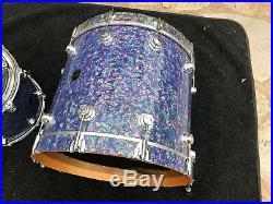 DW Collectors MEDITERRANEAN PEARL 6pc Drum Set kit! Excellent
