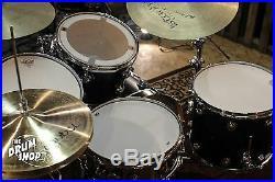 DW Collectors Series Drum Set Ebony Satin Oil 22, 12, 13, 16 SO# 780954