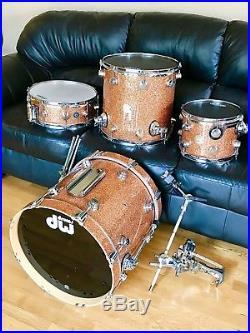 DW Collectors Series Jazz Drum Set 18/10/14/14 Champagne (Includes Snare Drum)