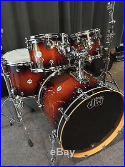 dw design series 5 piece drumset used drum sets. Black Bedroom Furniture Sets. Home Design Ideas
