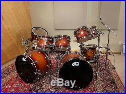 DW Drum Workshop Collectors Double Bass Kit Set 11 Pc