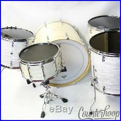 Dark Horse Custom Drum Set Bass-24x18, Tom-18x15,16x16,14x12, Snare-14x7 WMP Maple