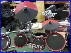 Ddrum DD5X Electronic Drum Kit Set with Cymbals Good Working Condition