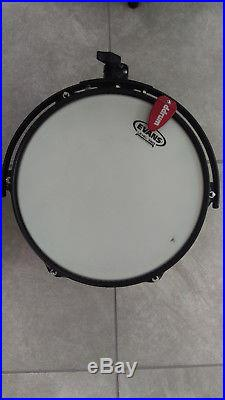 Ddrum Hybrid Acoustic/Electric 6-piece set with EVANS heads, cables and dampening