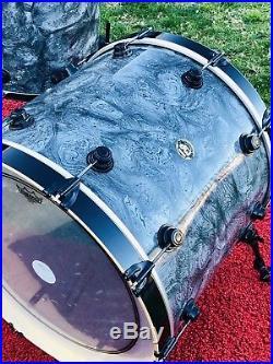 Dw Drum Workshop Collectors 3pc Maple Drumset Kit 24kick 16floor 13tom