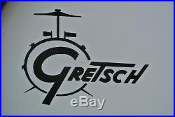 GRETSCH USA CUSTOM DRUM SET 18 BASS DRUM 10/12/14 withMATCHING SNARE DRUM! #D765