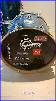 Gretch/ Tama 7 piece drum set, Zildjian cymbals used