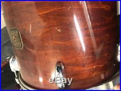 Gretsch 1980 Square Badge 3pc Drum Set Kit 24x16,13x11,16x16