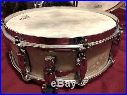 Gretsch Renown 4 Piece Jazz Bop Drum Set Kit Shell Pack Vintage Marine Pearl