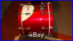 Gretsch Renown'57 drumset in motorcity red