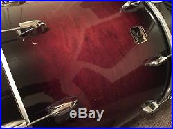 Gretsch Renown Maple 5-piece Drum Set Kit Cherry Burst + 2 DW Stands