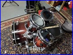 Gretsch Renown Maple Drum Set in Cherry Burst- 10/12/14/22