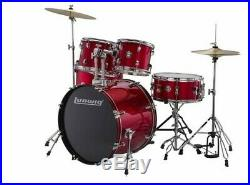 Ludwig Accent Series Drive Drum Set Red Foil
