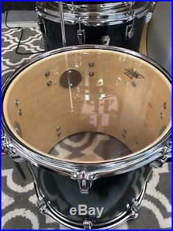 Ludwig Classic Maple Charcoal Shadow 20,16,14,13 Drum Set