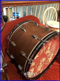 Ludwig / Rogers Vintage Drum Set