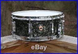 Ludwig Vintage Drumset. Pre-serial 22/16/13/14 WFL Snare. BDP Very Nice
