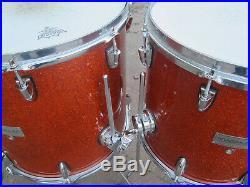 MAGNUM Maple Schlagzeug / Drumset / Shellset 22 12 14 16 / Orange Sparkle