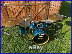 Mapex 5-Piece Complete Drum Set with Cymbals & Pedals
