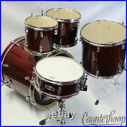 Mapex M 22x17,10x9,12x10,16x14 Bass/Toms+14x5Snare Drum Set 9Ply Maple Lacquer
