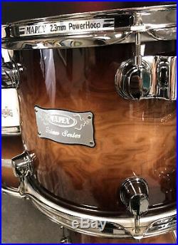 Mapex Orion Coffee Burst 4pc Drum Set