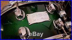 Mapex Saturn Signature Series 5-Piece Drumset, Excellent Cond, Green Apple Burst