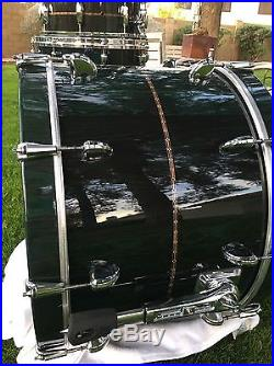 NO RESERVE! Tama Star Bubinga 5 Piece Drum Set Professional Cordia Veneers $$$