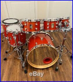 One Of A Kind Love Custom Drums Aluminum Namm Drum Set