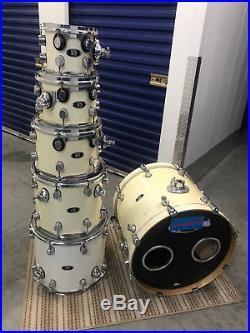 Pdp X7 Maple 6 Pc Drum Set Kit Vg Used Drum Sets