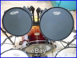 Pearl Drum Set ELX Drum Set Kit 5 Piece Nice