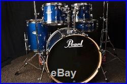 Pearl Drum Set EXX725SC702 Export 5-Piece Blue Sparkle