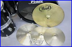 Pearl Forum Series Drums 5-Piece Set 12, 13, 14 16 & 22 With 5 Hats