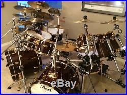 Pearl Masters Premium MMP #101 Walnut Complete drum Kit/set