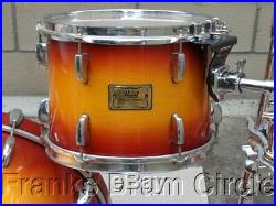 Pearl Masters Studio BRX Birch 4pc Drum Set / Shell Pack Sunburst