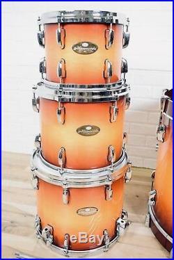 Pearl Masterworks custom 4 piece drumset kit near MINT-drums for sale